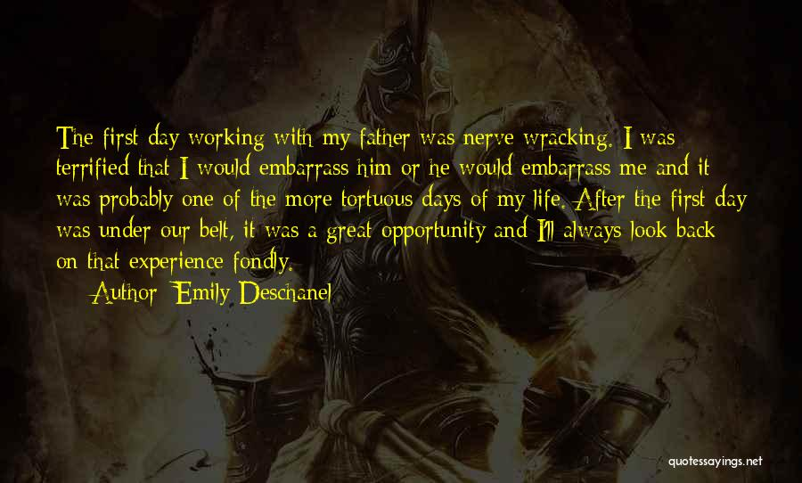 That Was A Great Day Quotes By Emily Deschanel
