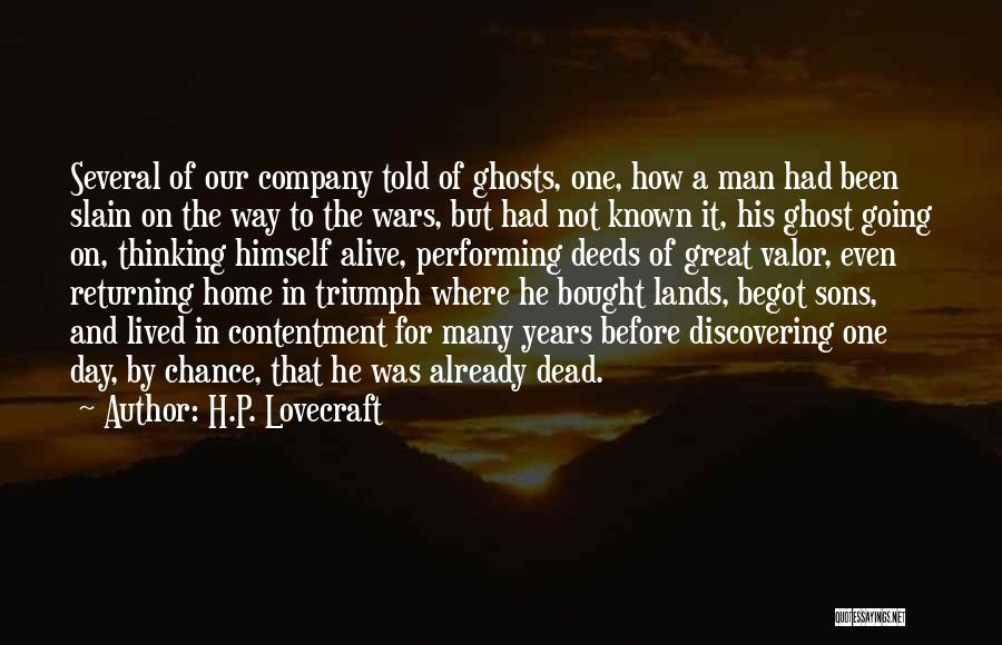 That Was A Great Day Quotes By H.P. Lovecraft