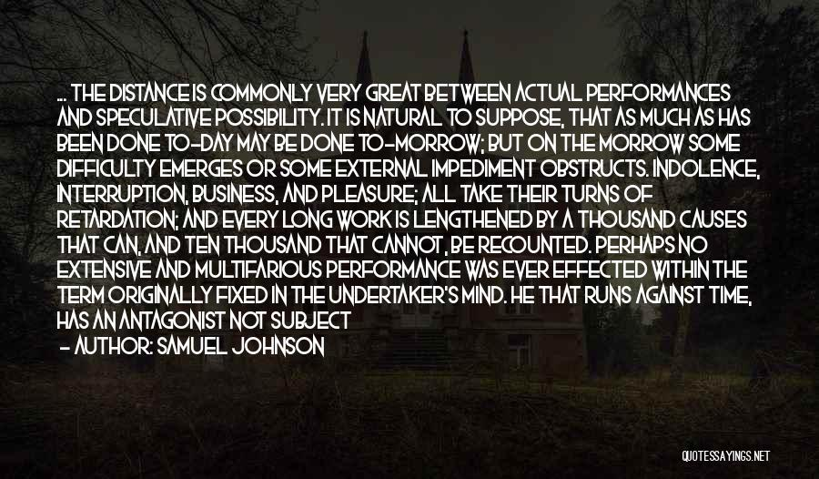 That Was A Great Day Quotes By Samuel Johnson