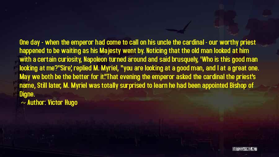 That Was A Great Day Quotes By Victor Hugo