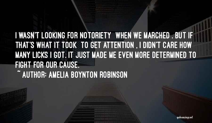 That's Just Me Quotes By Amelia Boynton Robinson