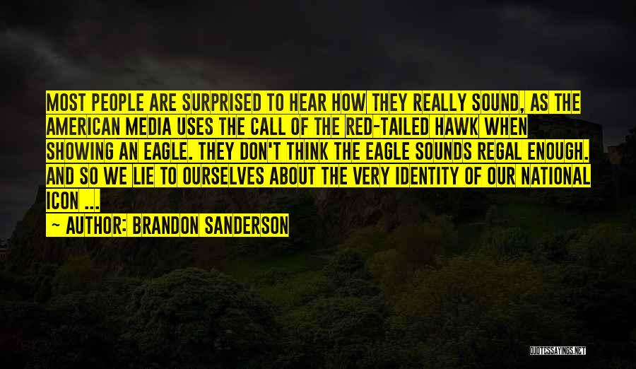 The American Identity Quotes By Brandon Sanderson