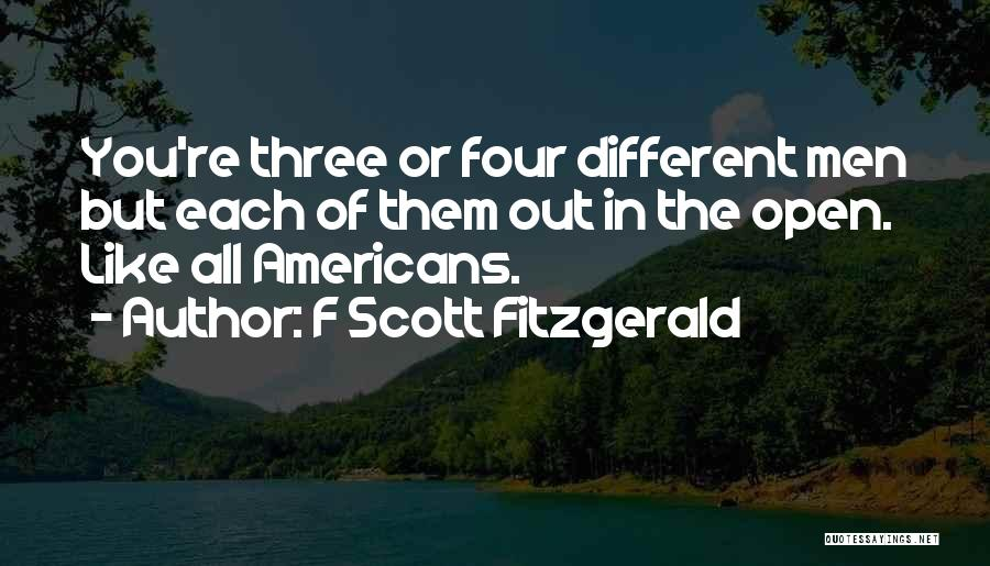 The American Identity Quotes By F Scott Fitzgerald