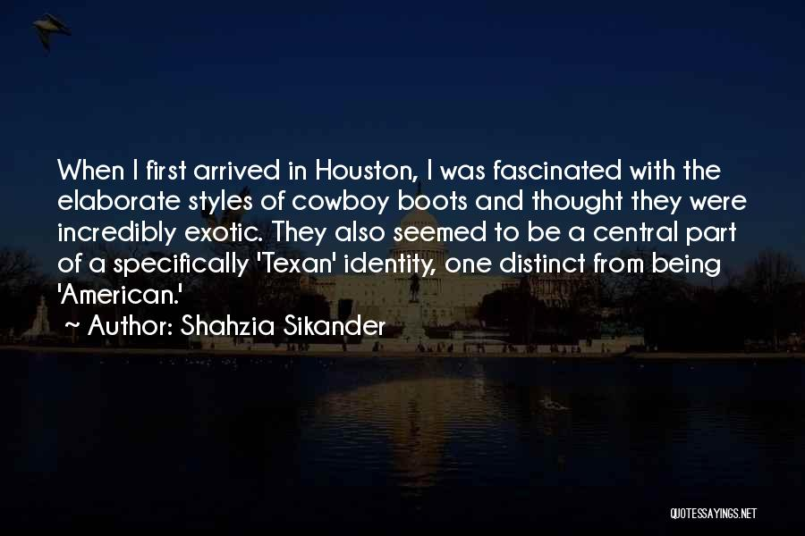 The American Identity Quotes By Shahzia Sikander