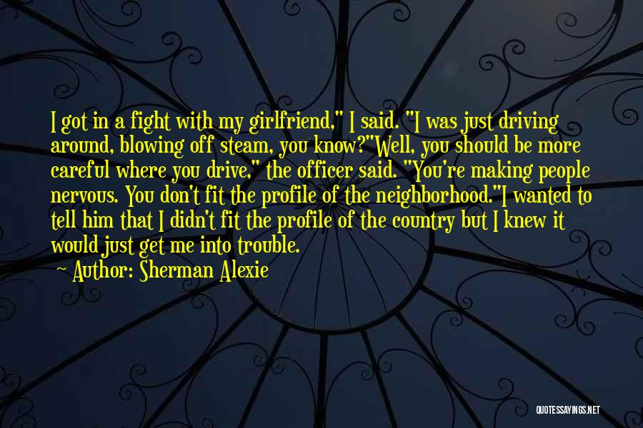 The American Identity Quotes By Sherman Alexie
