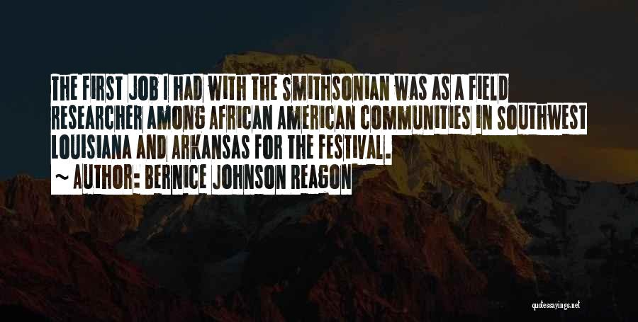 The American Southwest Quotes By Bernice Johnson Reagon