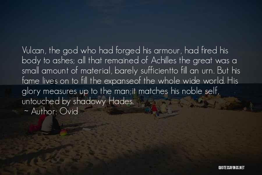 The Armour Of God Quotes By Ovid