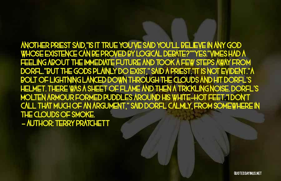 The Armour Of God Quotes By Terry Pratchett
