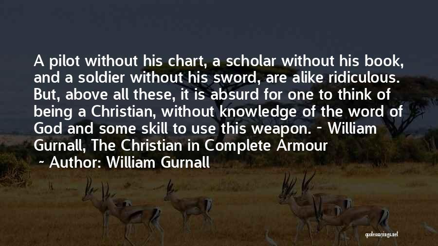 The Armour Of God Quotes By William Gurnall
