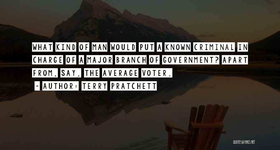 The Average Voter Quotes By Terry Pratchett