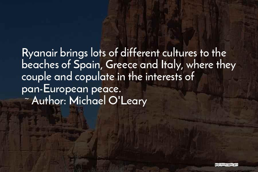 The Beach And Peace Quotes By Michael O'Leary