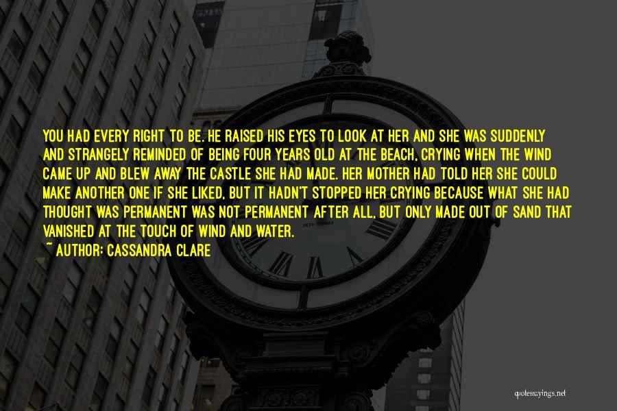 The Beach And Sand Quotes By Cassandra Clare
