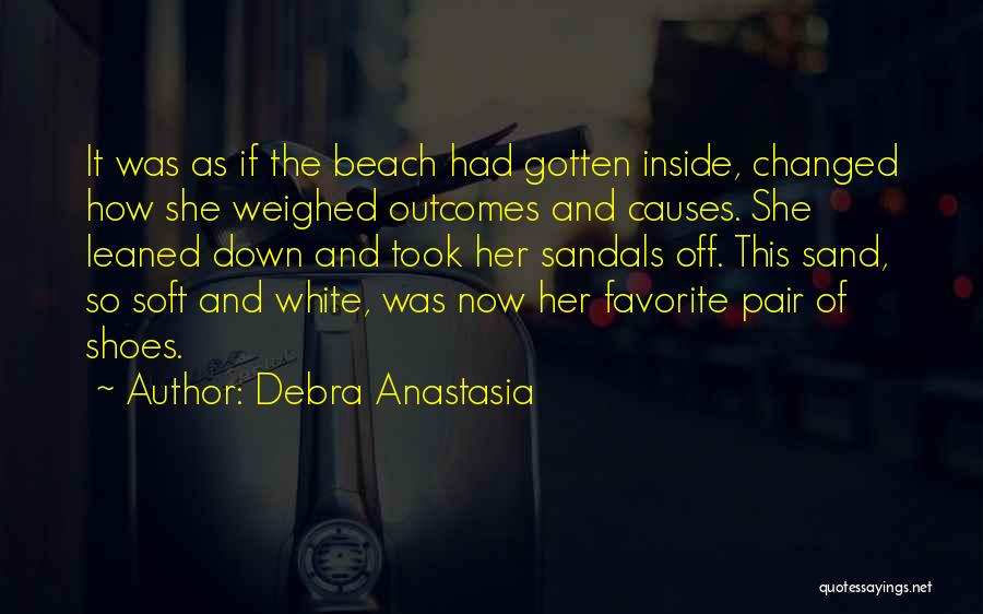 The Beach And Sand Quotes By Debra Anastasia