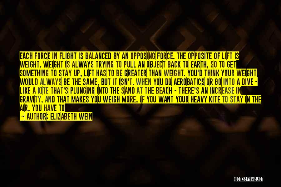 The Beach And Sand Quotes By Elizabeth Wein