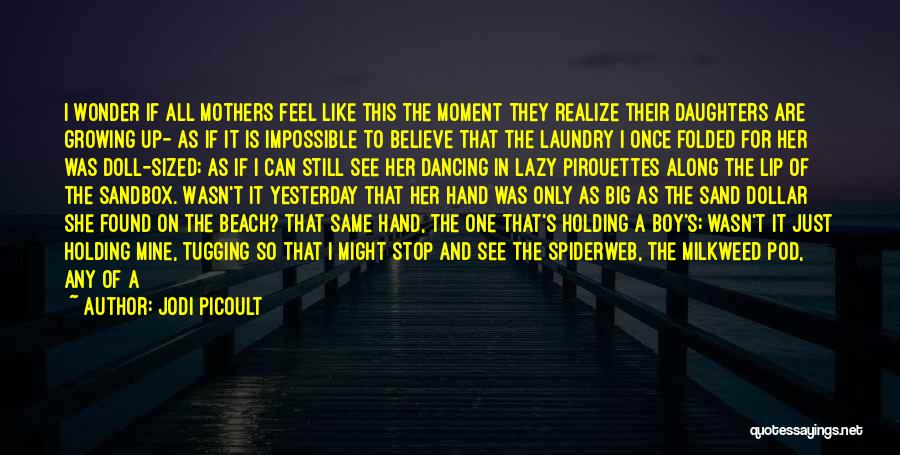 The Beach And Sand Quotes By Jodi Picoult