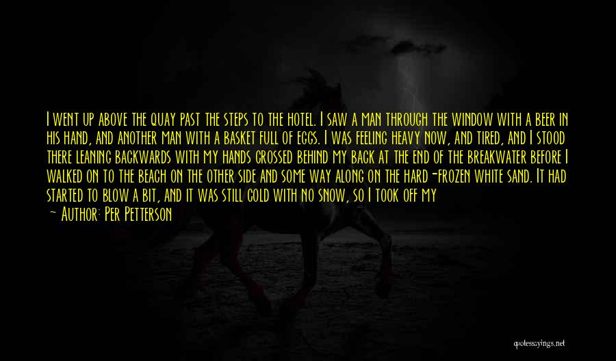 The Beach And Sand Quotes By Per Petterson