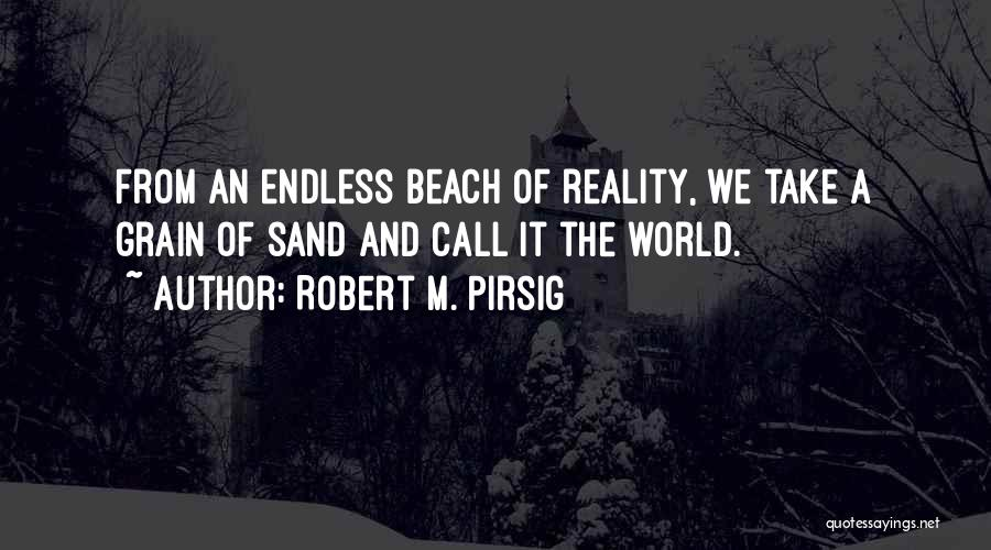 The Beach And Sand Quotes By Robert M. Pirsig