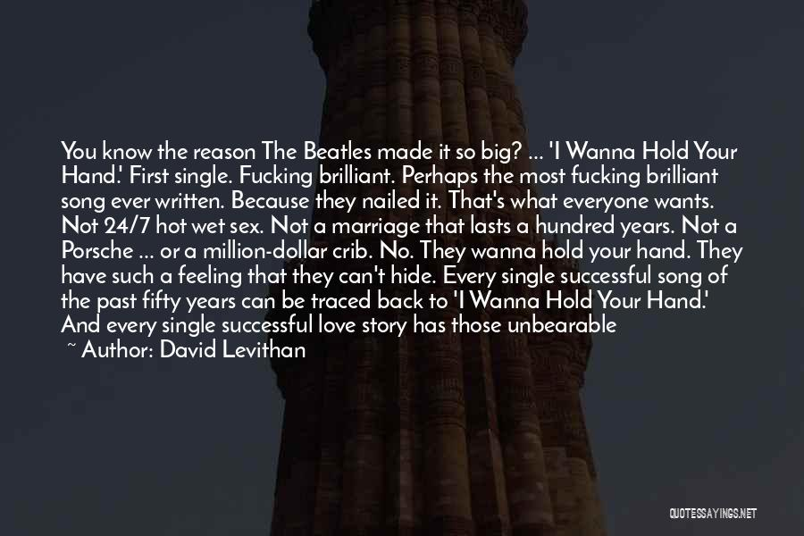 The Beatles Love Song Quotes By David Levithan