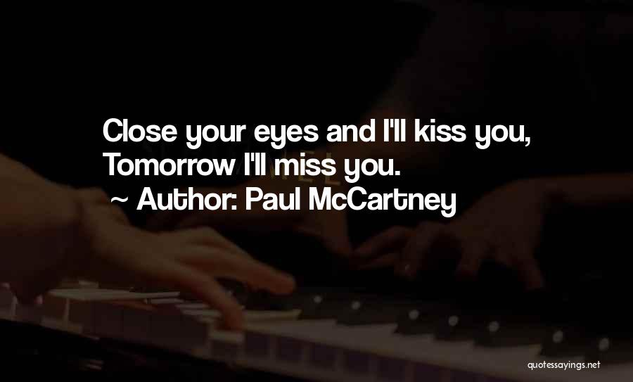 The Beatles Love Song Quotes By Paul McCartney