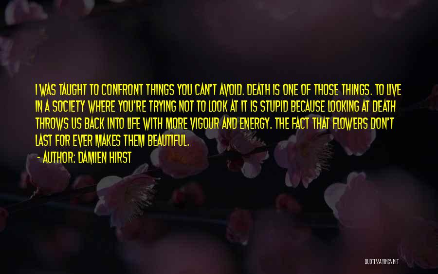 The Beautiful Things In Life Quotes By Damien Hirst
