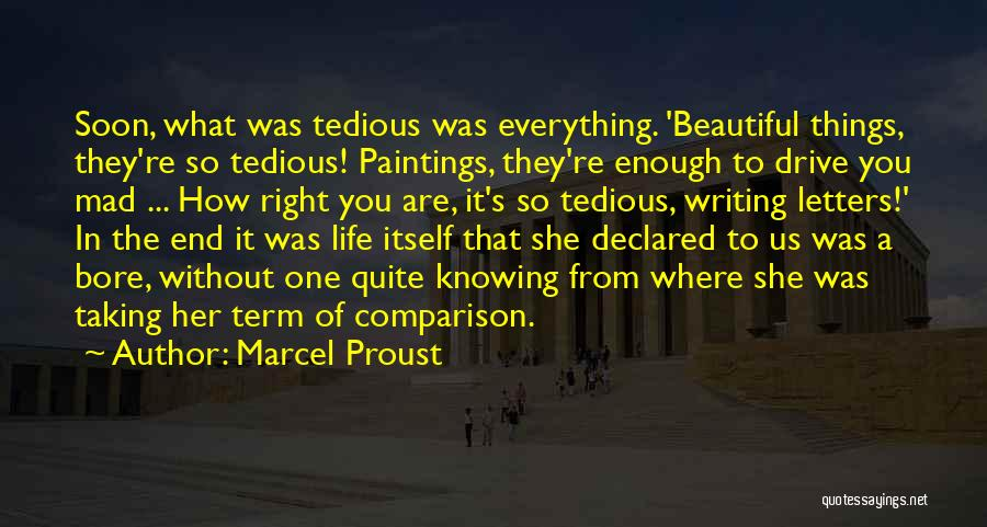 The Beautiful Things In Life Quotes By Marcel Proust