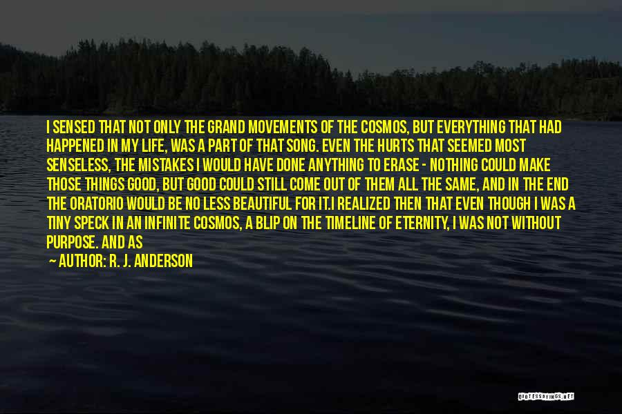 The Beautiful Things In Life Quotes By R. J. Anderson