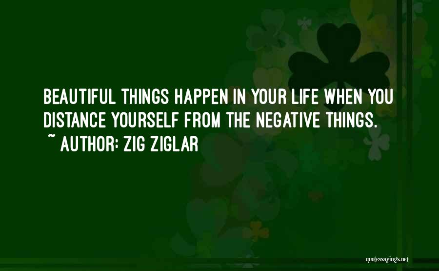 The Beautiful Things In Life Quotes By Zig Ziglar