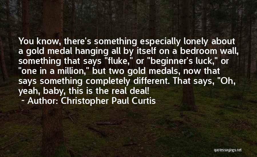 The Bedroom Wall Quotes By Christopher Paul Curtis