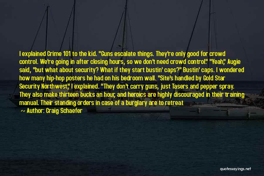 The Bedroom Wall Quotes By Craig Schaefer