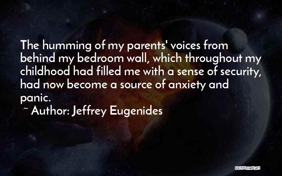 The Bedroom Wall Quotes By Jeffrey Eugenides