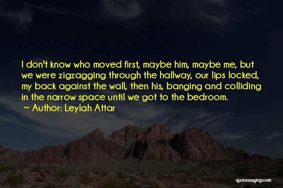 The Bedroom Wall Quotes By Leylah Attar