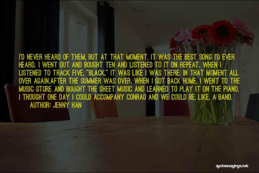 The Best Day Ever Quotes By Jenny Han