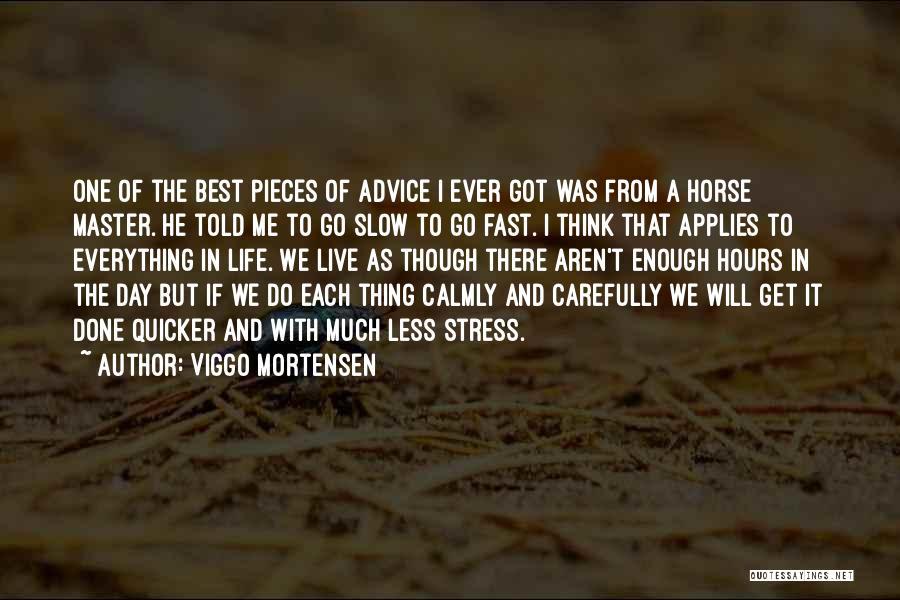 The Best Day Ever Quotes By Viggo Mortensen