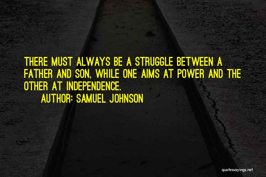The Best Independence Day Quotes By Samuel Johnson