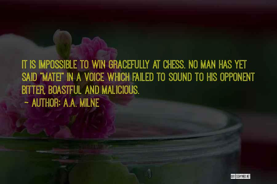 The Best Man Win Quotes By A.A. Milne