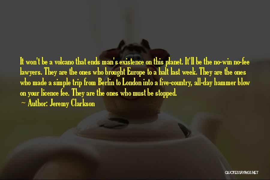 The Best Man Win Quotes By Jeremy Clarkson