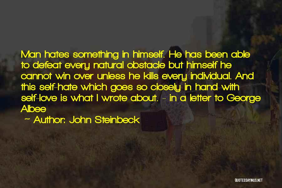 The Best Man Win Quotes By John Steinbeck