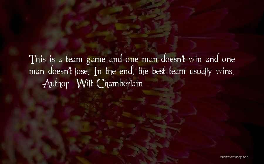 The Best Man Win Quotes By Wilt Chamberlain
