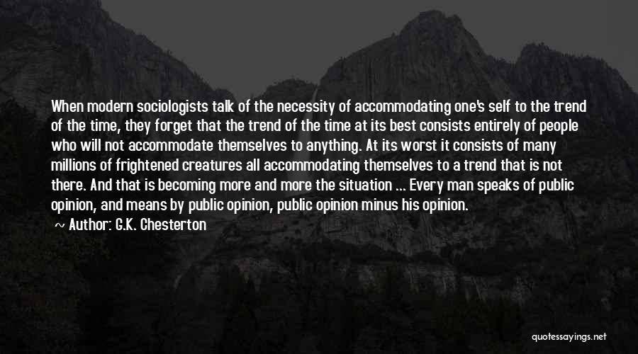 The Best Modern Quotes By G.K. Chesterton