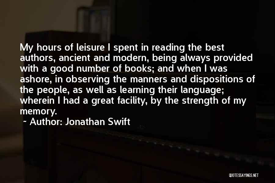 The Best Modern Quotes By Jonathan Swift