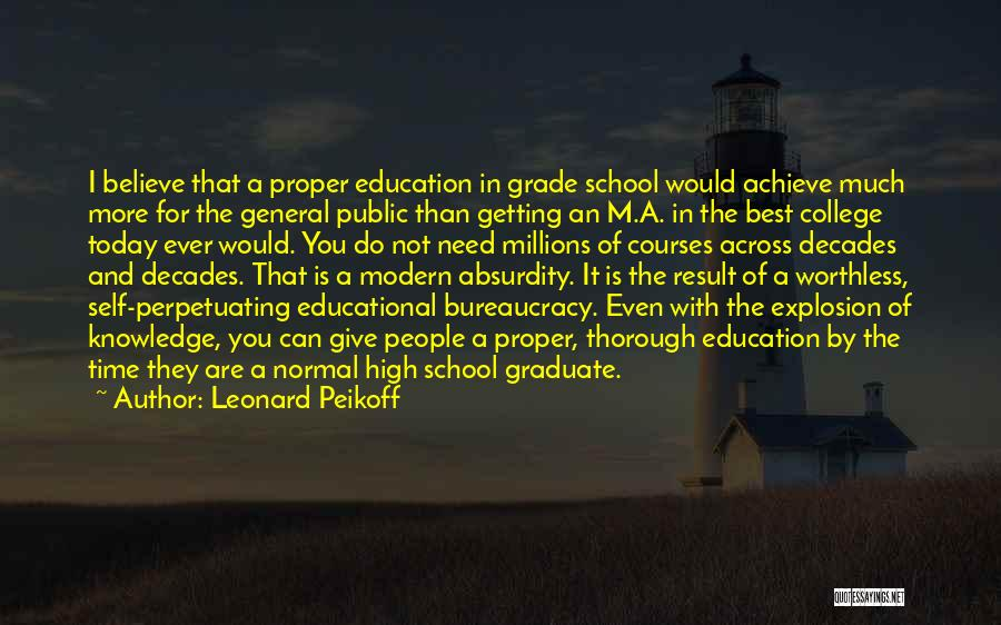 The Best Modern Quotes By Leonard Peikoff