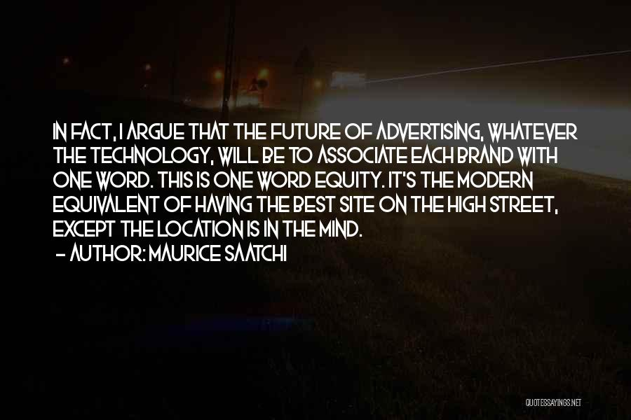The Best Modern Quotes By Maurice Saatchi