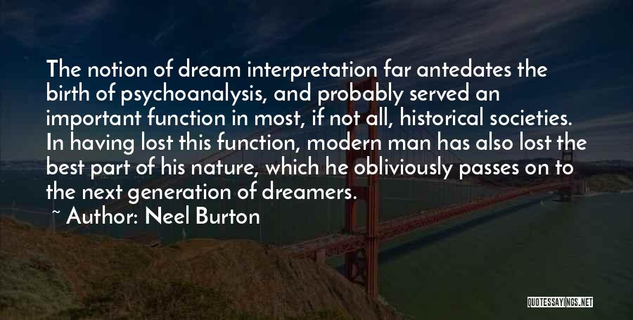 The Best Modern Quotes By Neel Burton