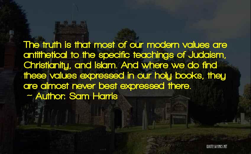 The Best Modern Quotes By Sam Harris