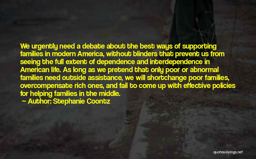 The Best Modern Quotes By Stephanie Coontz