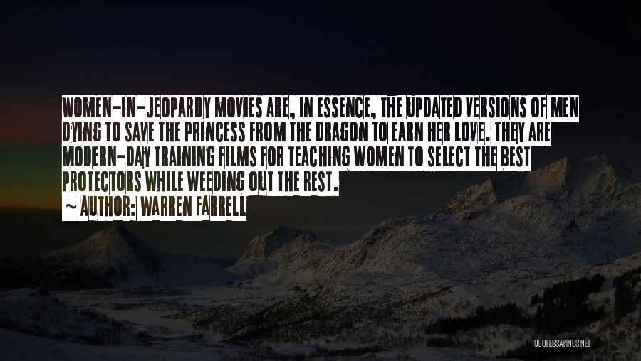The Best Modern Quotes By Warren Farrell