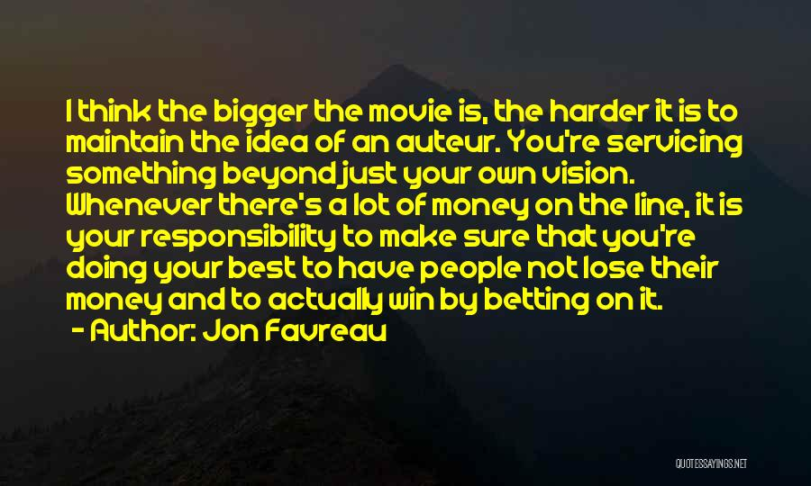 The Best Movie Quotes By Jon Favreau