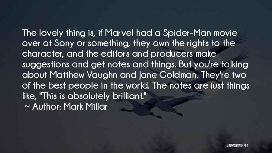 The Best Movie Quotes By Mark Millar