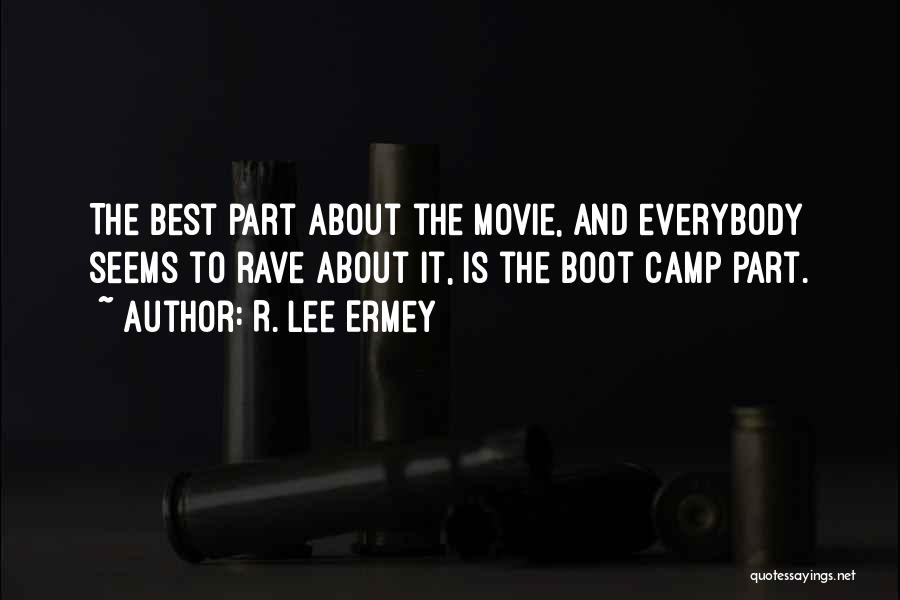 The Best Movie Quotes By R. Lee Ermey