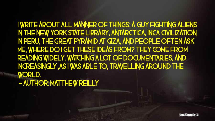 The Best Thing About Travelling Quotes By Matthew Reilly